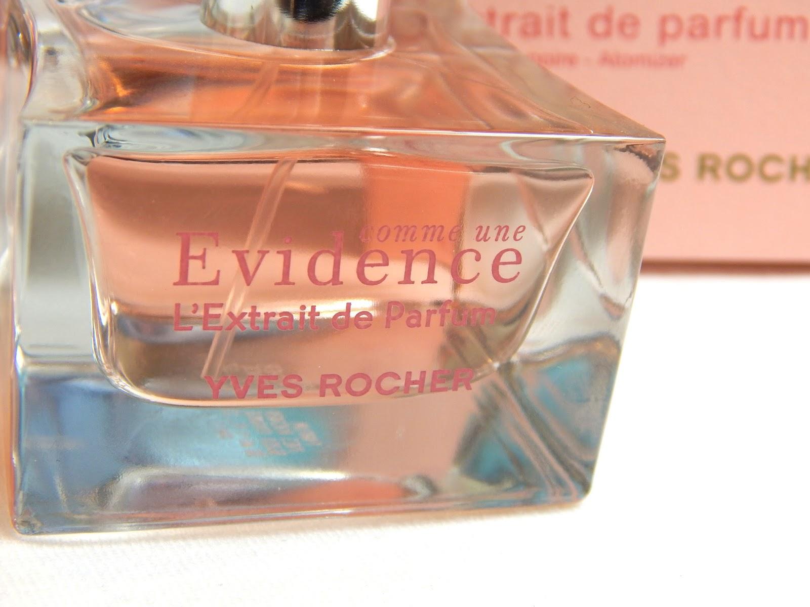 yves rocher evidence perfume