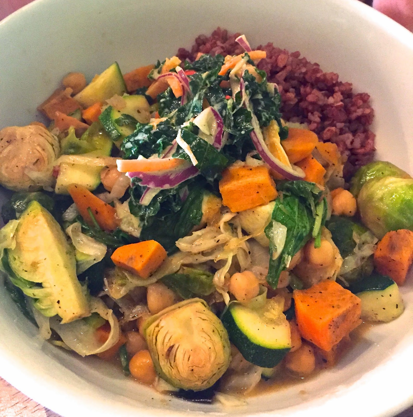 Laughing Buddha Bowl - Fern, Flavors from the Garden Vegetarian