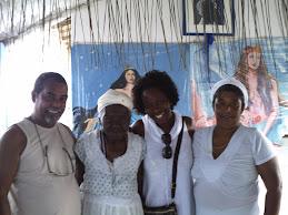 Visita à Mãe Filhinha, em Cachoeira na BA - Verão 2011