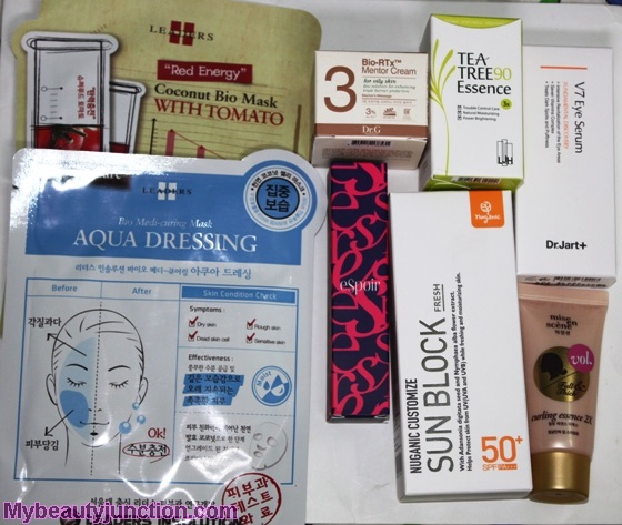 Memebox Luckybox 2 unboxing, review: Korean beauty box