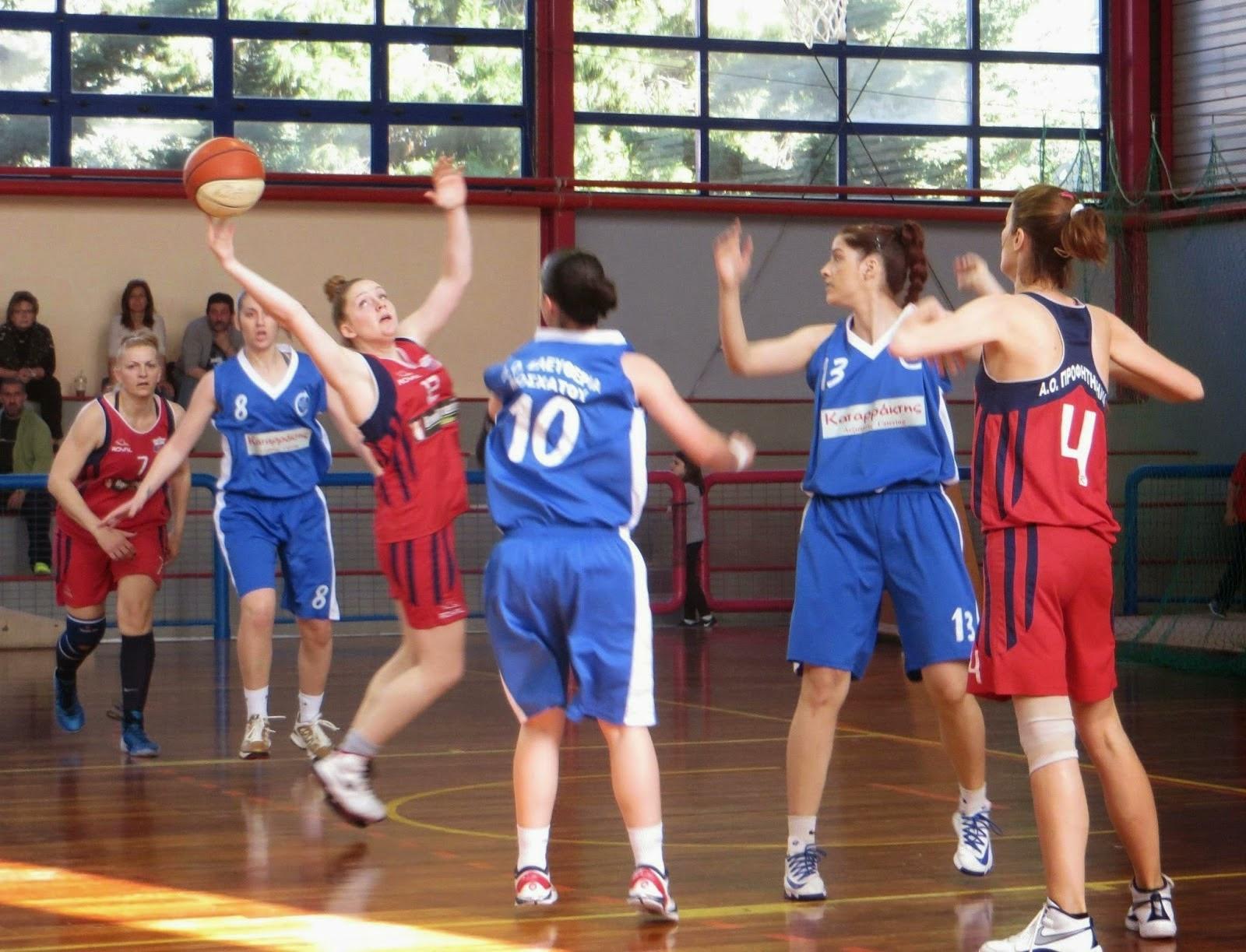 Στον τελικό των πλέϊ οφ των γυναικών η Ελευθερία Μοσχάτου 43-34 τον Προφ. Ηλία