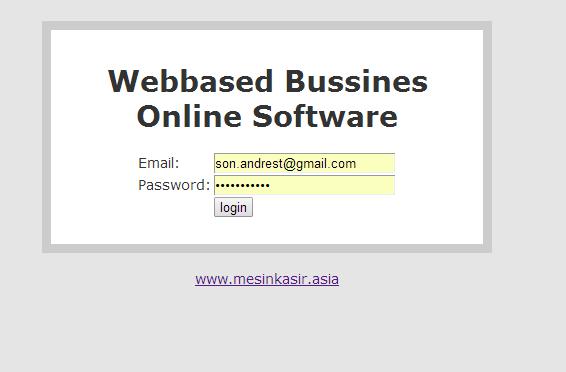Software penjualan stok invoice online