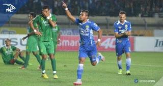 Persib Bandung vs Persebaya United - Zulham Gol