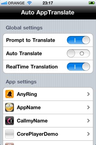screenshot 1 Auto AppTranslate v1.41