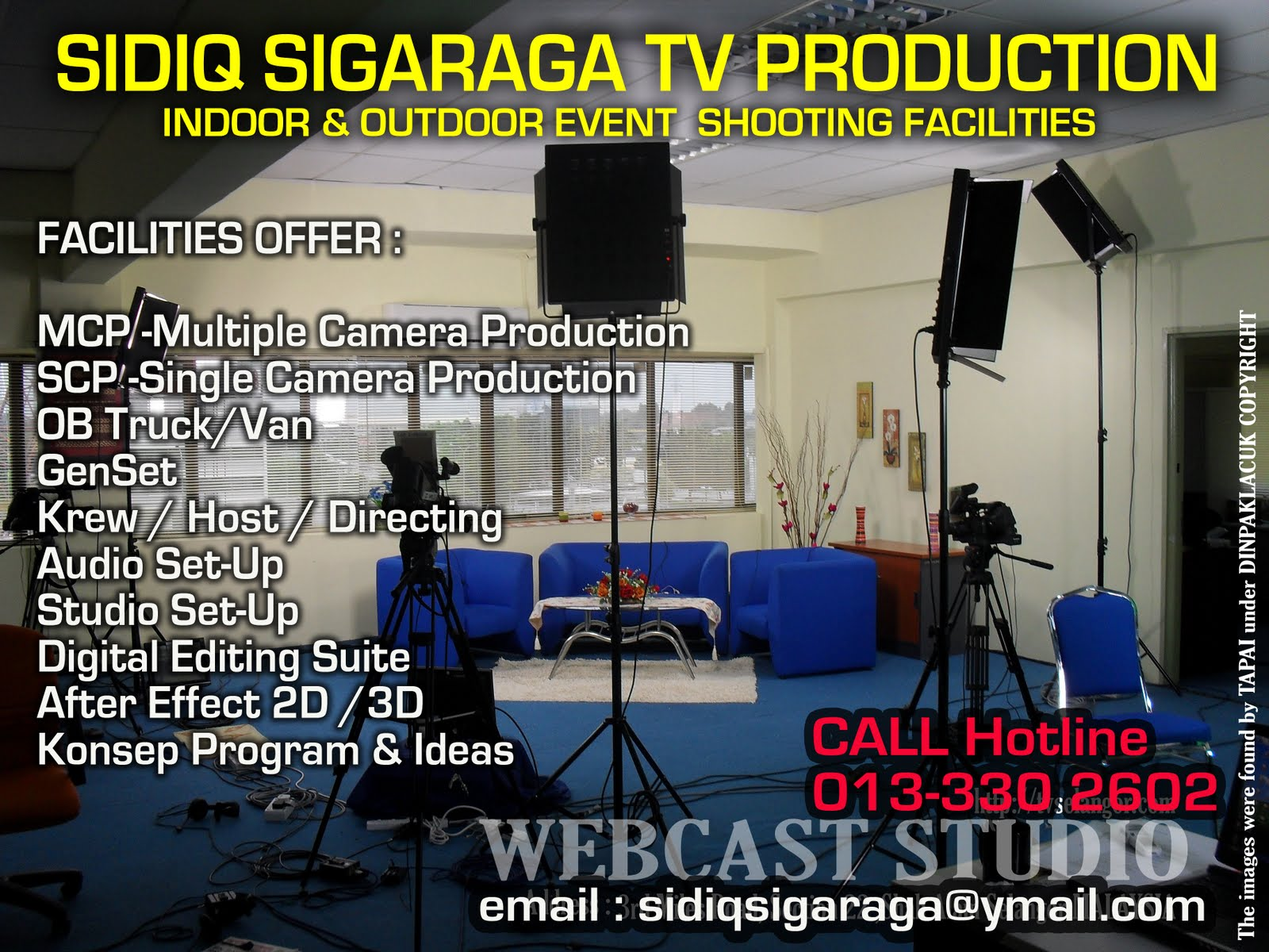 SIDIQ SIGARAGA TV PRODUCTION