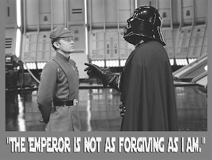 The emperor is not as forgiving as I am