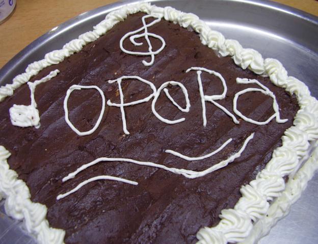 Resepi Kek Opera