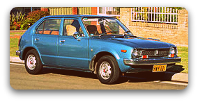My First Car: A 1978 Honda Civic Hatchback
