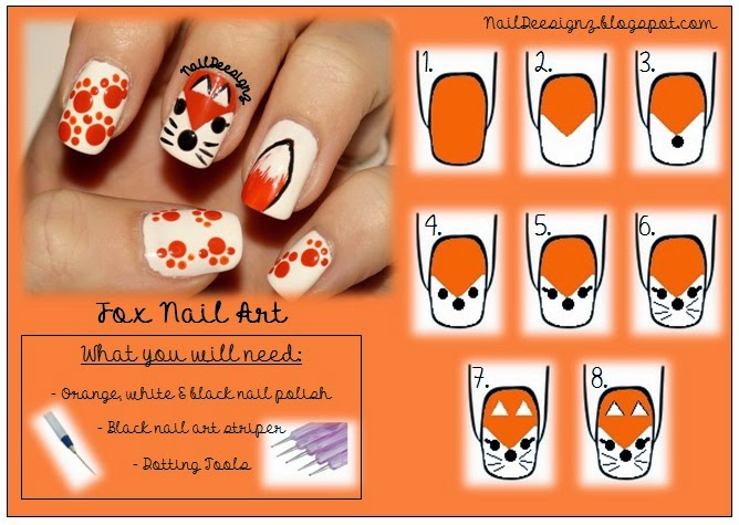 http://naildeesignz.blogspot.co.uk/2013/11/fox-nail-art.html