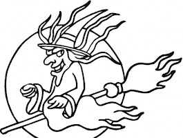 Halloween Coloring Pages And Puzzles
