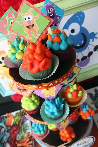 cup cake monstros sa