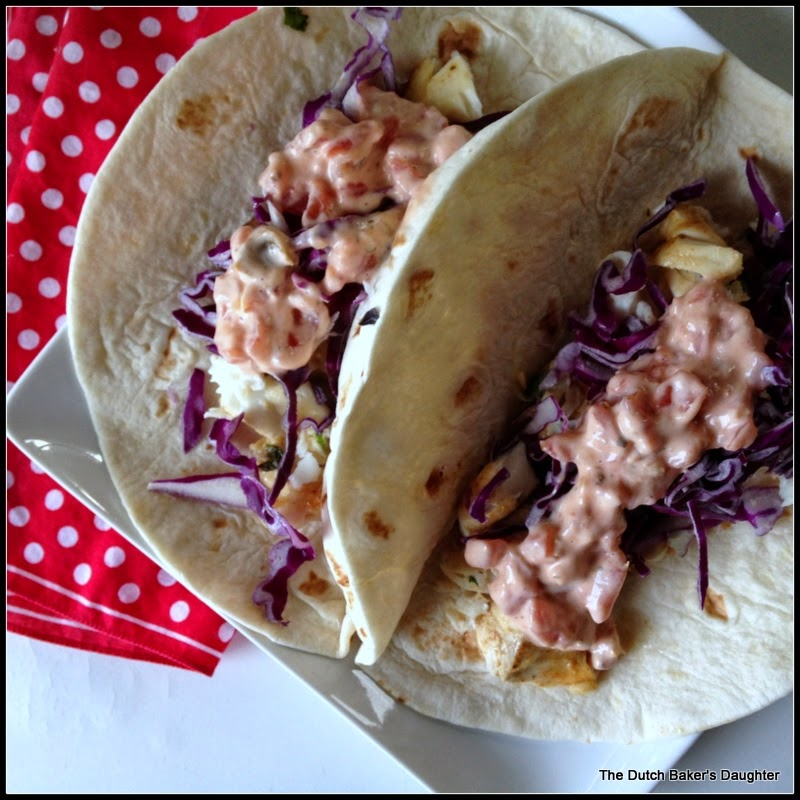 The dutch baker 39 s daughter fish tacos with lime and for Fish taco aioli