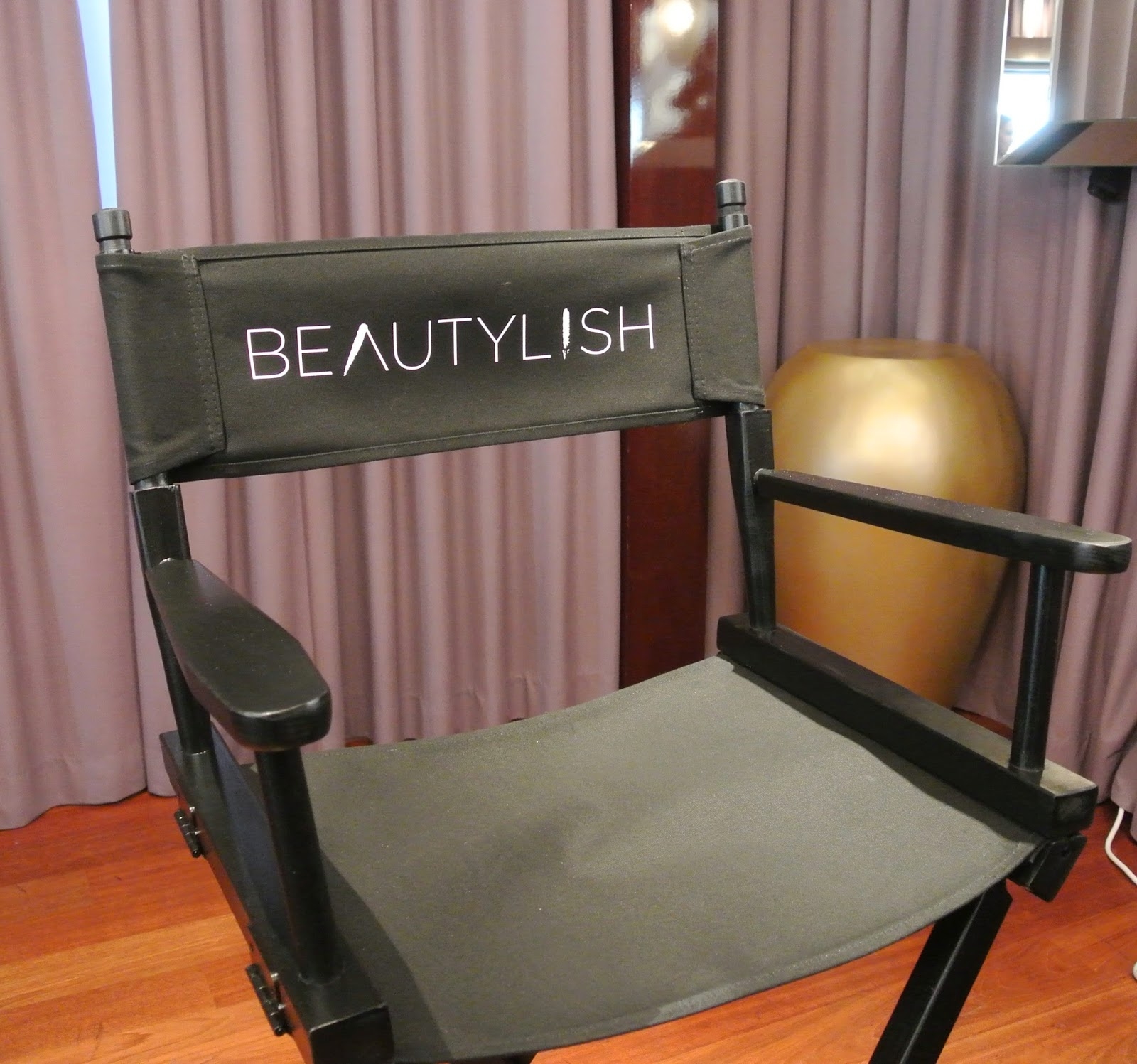 Beautylish director's chair.