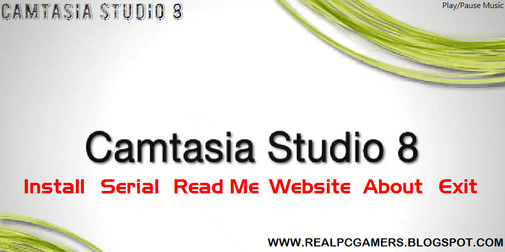 screen shot of camtasia studi 8