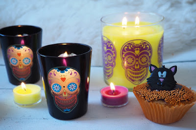 halloween partylite candle review