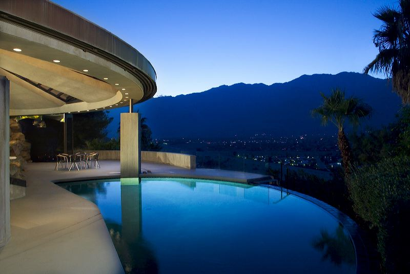 Loveisspeed elrod house by john lautner - Palm springs swimming pool contractors ...