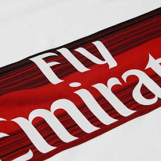 gambar detail jersey away ac milan official terbaru musim depan Detail bagian depan jersey Ac Milan away Official terbaru musim 2015/2016 di enkosa sport
