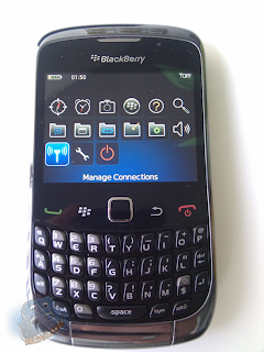 BlackBerry Curve 9300 Kepler