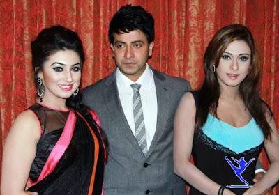 Bangladeshi model Bobi with achol