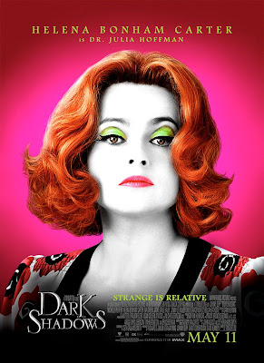 Helena Bonham Carter as Dr Julia Hoffman Dark Shadows Poster