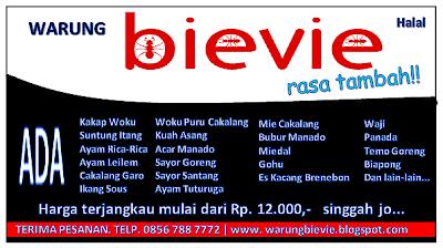 Warung Bievie - For something different in Balikpapan Bievie+box+22