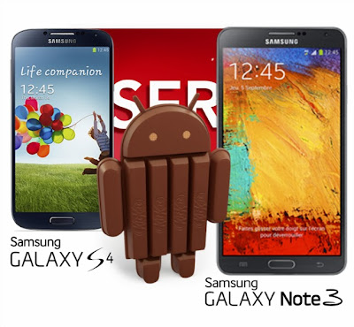SFR releases the KitKat update schedule for Galaxy S4 and Galaxy Note 3