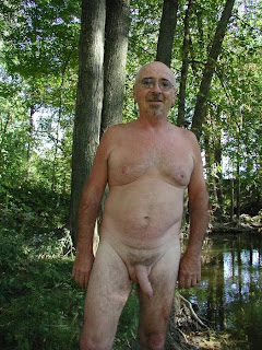 mature men nude - silver