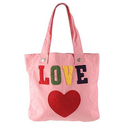 pink-floral-love-bag - Can't Buy Me Love...Or Can You
