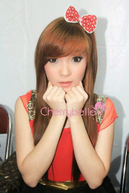 Gambar Angel anggota Cherrybelle