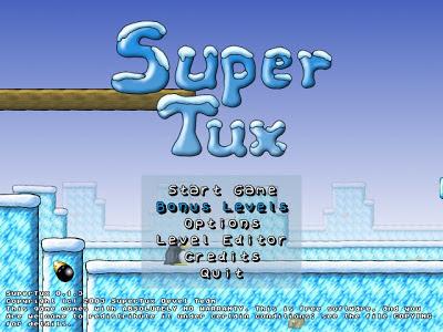 cara install game supertux di linux