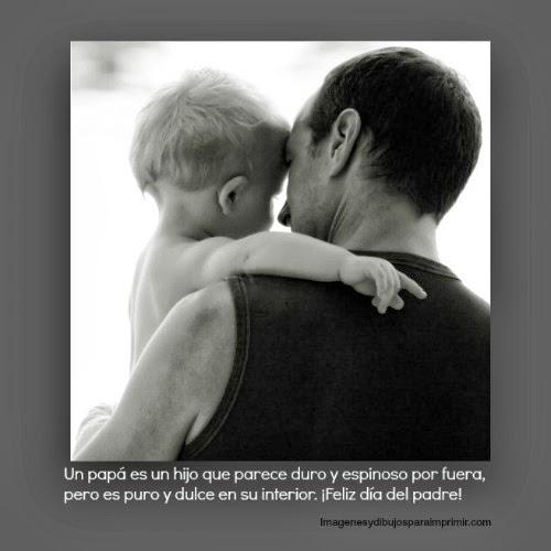 Imagenes del dia del padre con frases