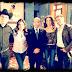 Foto! Felipe Calderón, o presidente do México visita os estúdios da Televisa