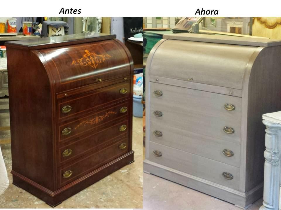 Candini muebles pintados nuevos y redecorados un toque - Restauracion de muebles barcelona ...