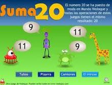 PRESIONA O BOTÓN PARA SUMAR 20