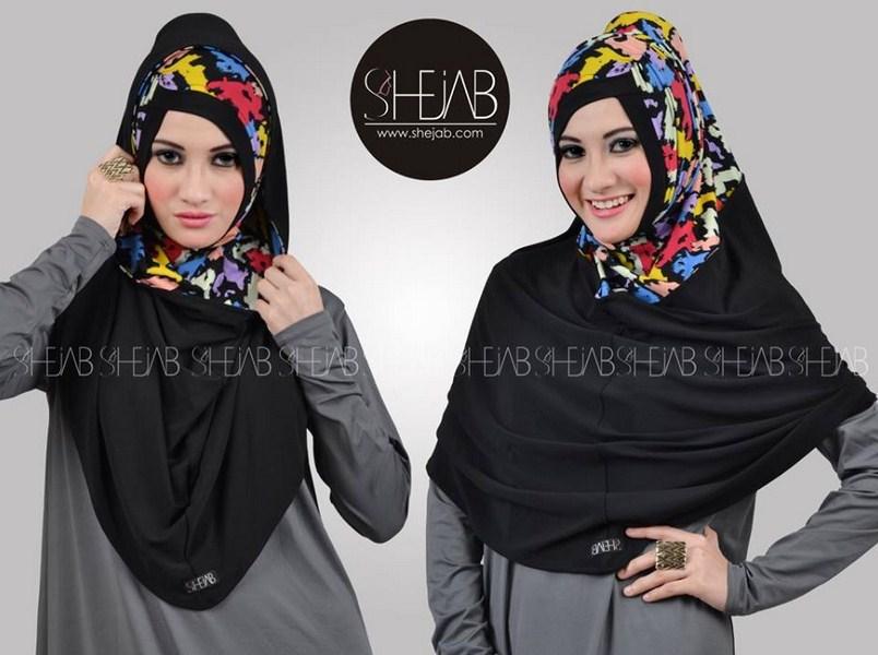 koleksi gambar model jilbab keren 2015