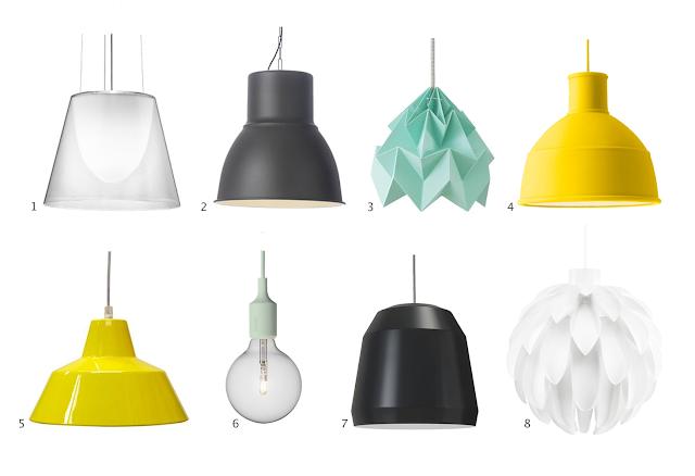 Stelle nye lamper til gang - Lampe a lave ikea ...