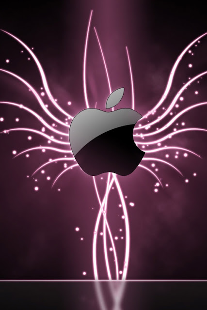 Glow From Apple iPhone Wallpaper By TipTechNews.com