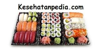 Bahaya makan sushi bagi kesehatan tubuh