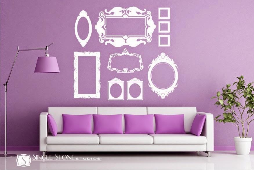 Vinilos decorativos marcos decoracion de interiores a tu for Vinilos decorativos interiores