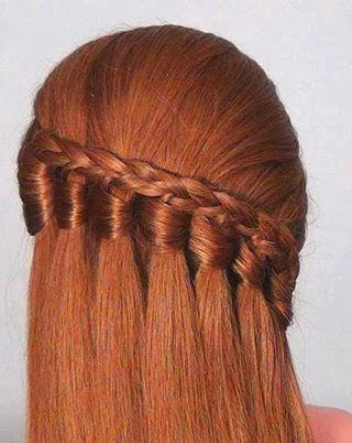 La tresse est aussi une coiffure, elle peut se faire avec l\u0027ensemble des  cheveux en une seule tresse centrale en arrière du crâne, sur une chevelure  séparée