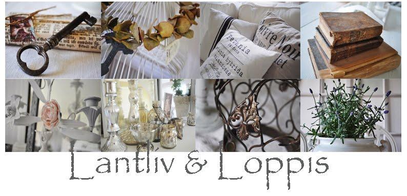 Lantliv och Loppis