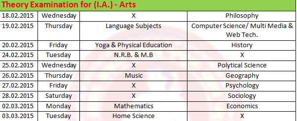 icse board time table 2015 Icse exam 2015 time table 17/12/2014 1 comment board paper solutions cbse 10 [old post] cbse 11th and 12th cbse news updates class 12 study materials.