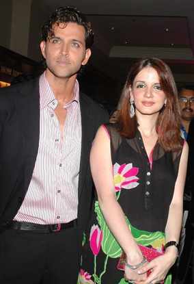 Sussanne Became His Friend For 4 Years Before Their Marriage 93 The Has Two Sons Hrehaan Born In 2006 And Hridhaan 2008