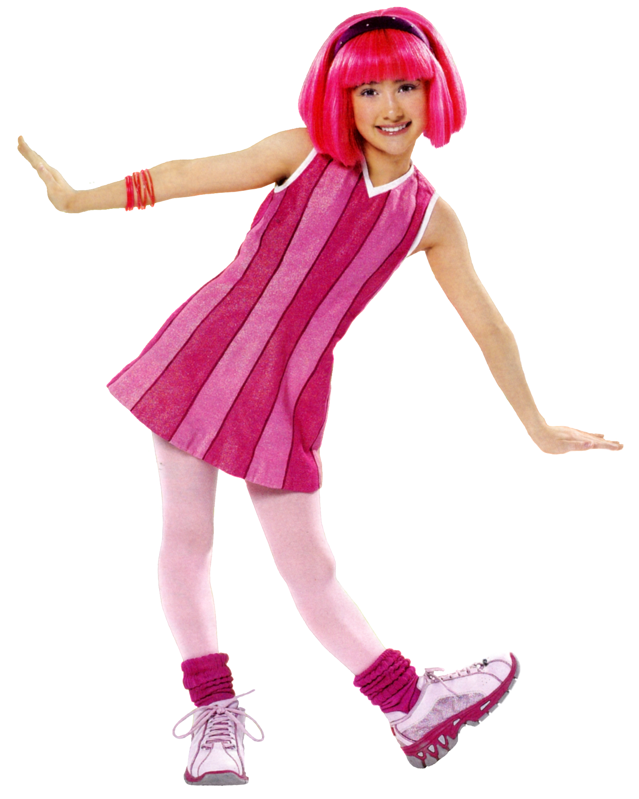 Lazy Town Stephanie Arrested - ma