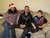 The band 'The Killers' came to visit Oliver(click to watch Killers video)