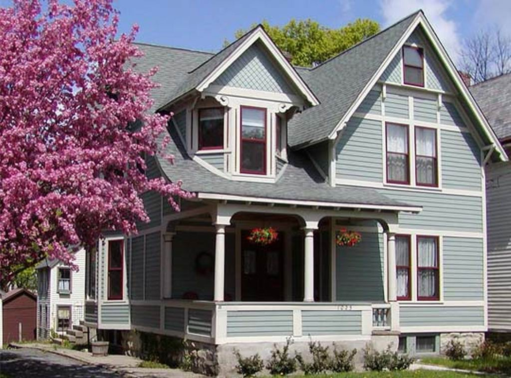 Economy paint supply exterior ideas that will turn your Exterior house colors with brown roof