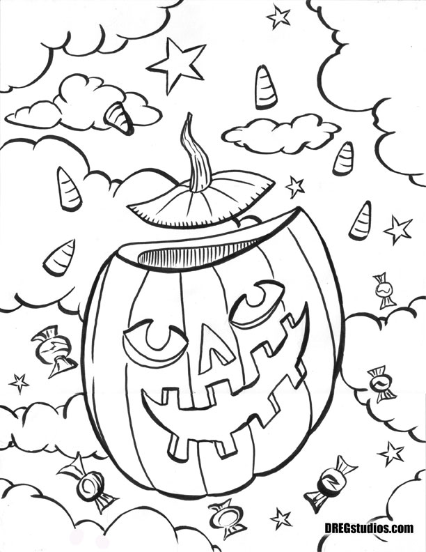 DREGstudios The Artwork of Brandt Hardin Coloring Pages for