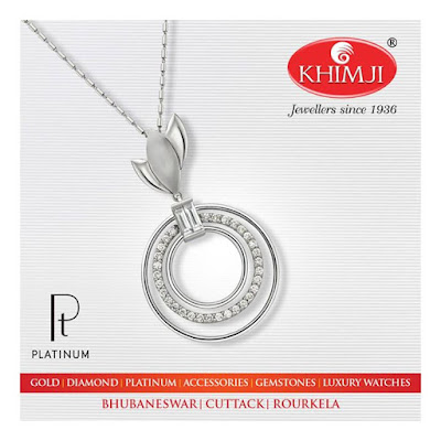 Gold Platinum and Silver Jewellery at Khimji Bhubaneswar