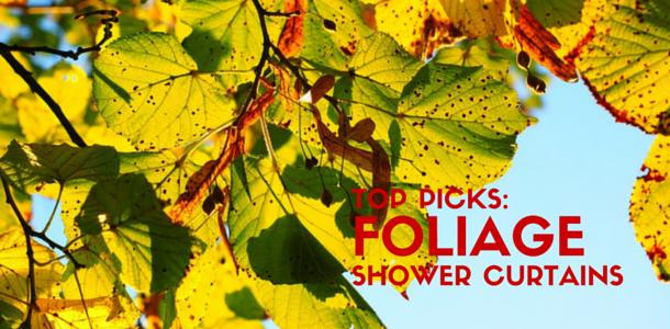 Best Foliage or Leaf Shower Curtains