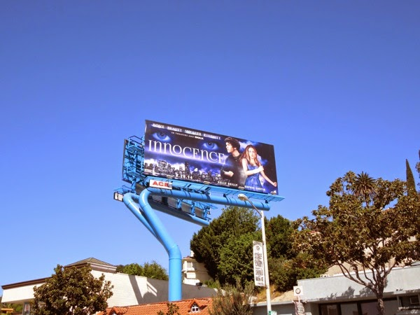 Innocence film colour billboard Sunset Strip